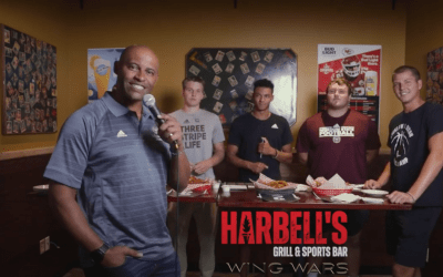 Harbell's names new wing flavor in first annual Wing Wars